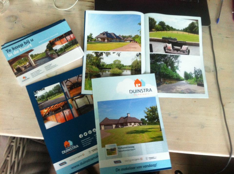 Foto brochures woning